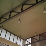 El aluminio falso C formó el techo de la tira con diseño de la manera