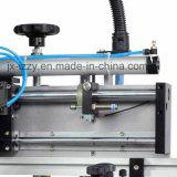 Máquina de impresión semiautomática de la pantalla plana de la cama para la bolsa de plástico