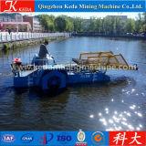 Equipo de corte de malezas acuáticas automático
