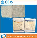 Tampone non sterile 7.5cmx7.5cm della garza per cura della ferita