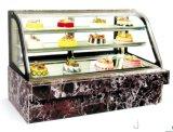 싱크대 케이크 내각 전시 냉장고 진열장