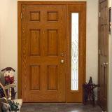 Лист дуба ровный отливая составной лист в форму двери