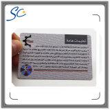 Kundenspezifisches Drucken Cr08 Plastik-Belüftung-Karte