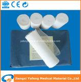 Rolo 100% estéril médico da atadura do algodão do algodão que corta a gaze absorvente