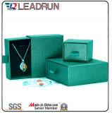 La colección pendiente del regalo del embalaje de la cartulina de la joyería del brazalete lujoso del anillo fija el rectángulo (YS80A)