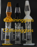 Glänzendes wundervolles Entwurfs-Glaswasser-Pfeife mit USA-Farbe