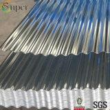 Tôle d'acier ondulée galvanisée de murs de /Zinc de feuille de toiture