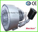 Ventilateur à haute pression de turbine de ventilateur de ventilateur de double étape et de plus grand flux d'air pour le matériel dentaire d'aspiration