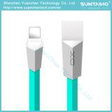 iPhone 인조 인간 전화를 위한 마이크로 USB 코드 데이터 Sync 번개 케이블을 비용을 부과하는 TPU 납작하게 마름모꼴 디자인