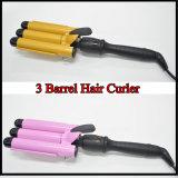 3 1 in den magischen elektrischen dreifachen Zylinder-Haar-Spirale-Lockenwicklern