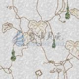 Materiais especiais de construção de molas decorativas para decoração de parede de folheados naturais especiais