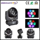 최고 소형 7*15W LED 이동하는 맨 위 세척 급상승 빛