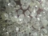 CVDの宝石のための白いダイヤモンド原石のHphtの大きいサイズのダイヤモンド