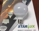 Lámpara del ahorro de la energía de la luz LED de la lámpara del globo del bulbo G80 LED del LED