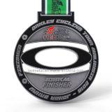 中国の安い習慣108kmのフィニッシャーのスポーツの金属メダル