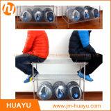 Hochleistungs3 Reihe-Bildschirmanzeige-Ausgangsspeicher-Chromstahl-Draht-Zahnstangen-Draht-Regal