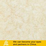 Желтый мраморной плиткой из камня с остеклением в полной мере полированной плитки