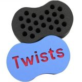 Hot Sale Twist Magic Hair Sponge Brosse pour brosse à cheveux éponge pour Black Men