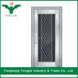 Puertas de oscilación de cristal del acero inoxidable