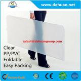 명확한 PP 플라스틱 Foldable 의자 지면 매트 쉬운 투명한 및 패킹