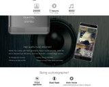 Oukitel K6000 PROLte 4G Kern 1.3GHz Handy32gb 16MP 5.5 '' des Android-6.0 Mtk6753 Octa RAM 3GB 6000mAh1920X1080 intelligentes Telefon-Silber