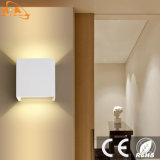 Square aluminio IP65 Lámpara de Pared LED de iluminación exterior