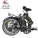 Bewegungsfaltbares elektrisches Fahrrad des Lithium-36V schwanzloser der Batterie-250W (JSL039D-1)