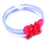 Glow pulsera con los accesorios de la mariposa