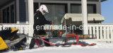 Plattform-Ski-Schlitten/Schnee-Schlitten/Bauholz-Ski-Schlitten/Schnee-Schlitten-Schlussteil/UniversalPferdeschlitten/DienstPferdeschlitten-/Transport-Schlitten für Atvs/Snowmobiles/Vierradantriebwagen/UTV/nebeneinander