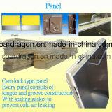Quarto de armazenamento frio da isolação do poliuretano do aço inoxidável