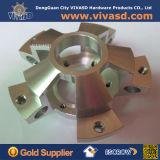 O alumínio personalizado CNC de 4 linhas centrais parte as peças do CNC