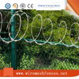 Maillon de chaîne haut rasoir militaire de clôture de barbelés