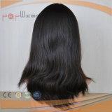 Migliori parrucche non trattate di vendita 100% di Sheitel della parrucca di stile dei capelli superiori di seta del Virgin