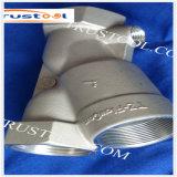 CNC подвергая изготовленный на заказ продукты механической обработке нержавеющей стали Polished