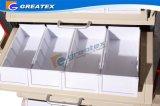 Carretilla plástica de la medicina con cuatro columnas de aluminio (GT-Q201)