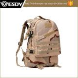 Militär, das kampierenden Beutel des Rucksack-3D wandert