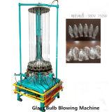 Bulbo de cristal que hace la máquina
