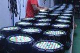 54*3W RGBW LED防水ランプの同価ライト