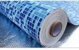 fodera della piscina del PVC di 1.2mm/1.5mm/2mm con il rinforzo della vetroresina