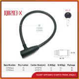 Jq8203-X hohes Sicherheits-haltbares Fahrrad-Verschluss-Motorrad-Stahlkabel-Verschluss