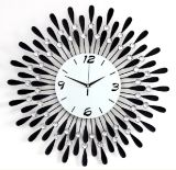熱い販売の金属の装飾のための細工した技術の柱時計
