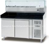 Refrigerador comercial do Worktable do aço inoxidável