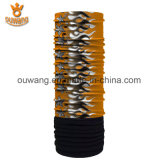 Bandanas inconsútiles de múltiples funciones al por mayor baratos impresos aduana del tubo del cuello del paño grueso y suave