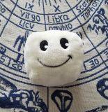 Giocattolo bianco della peluche del tofu della mascotte