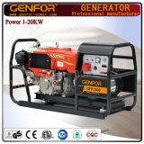 Niedriger Kraftstoffverbrauch-Dieselgenerator 12kVA mit leistungsfähigem Generator