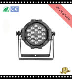 Low Noise Lightweight LED PAR Can Lights 18X3w RGBW 4-in-1 pour spectacles de bande / DJ / Clubs en direct