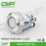 Lampadina di segnalazione verde, indicatore luminoso di indicatore di 19mm (indicatore luminoso Tri-color GRB RGY)