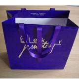 Sac chaud de cadeau de papier de vente, sacs en papier de empaquetage de achat