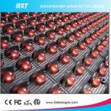 P10 sondern Baugruppe der rote Farben-bewegliche Text-Nachrichtenanzeige-LED aus