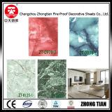 Hoja de HPL formica color mármol